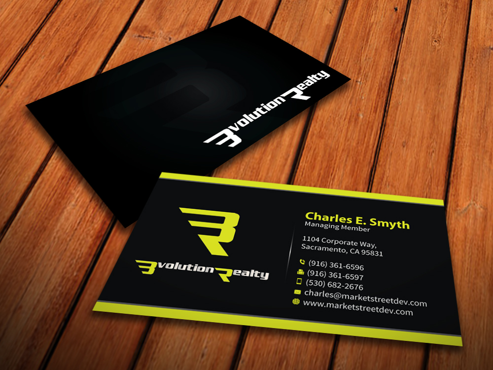 Business card design for desmond tang by for Game designer business cards