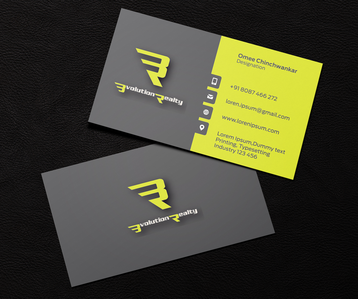 Entertainment Business Card Design for a Company by Omee | Design ...