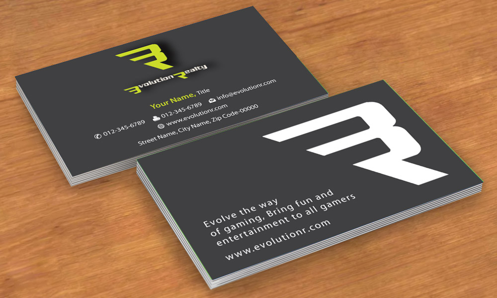 Business card design for desmond tang by smart design for Game designer business cards