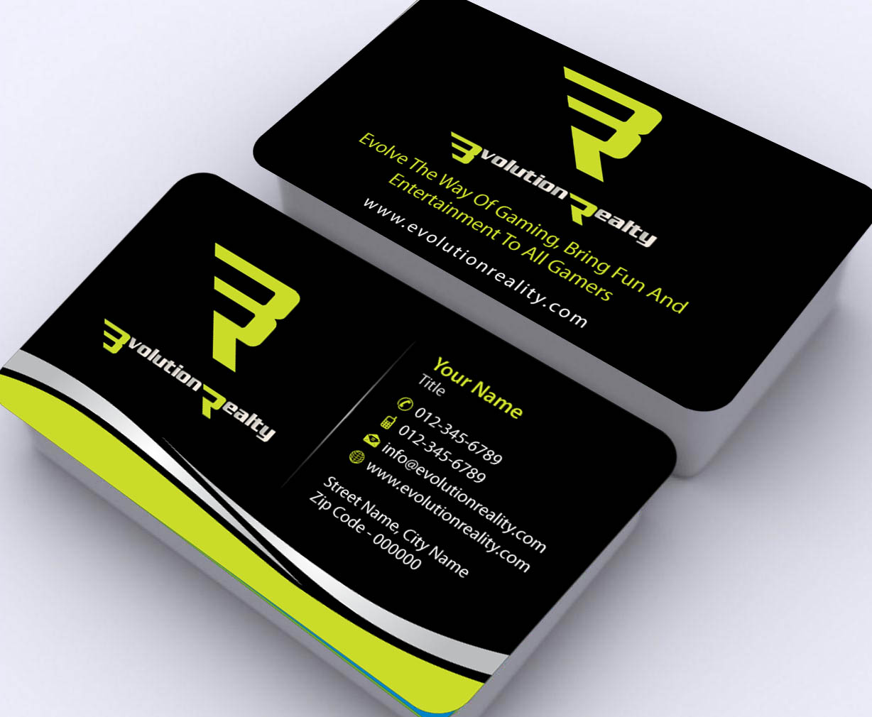 Entertainment Business Card Design For A Company By Sbss Design