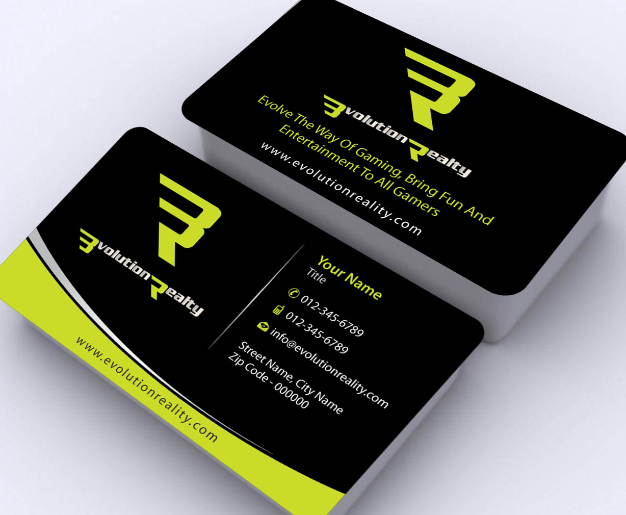 Entertainment Business Card Design for a Company by Sbss | Design ...