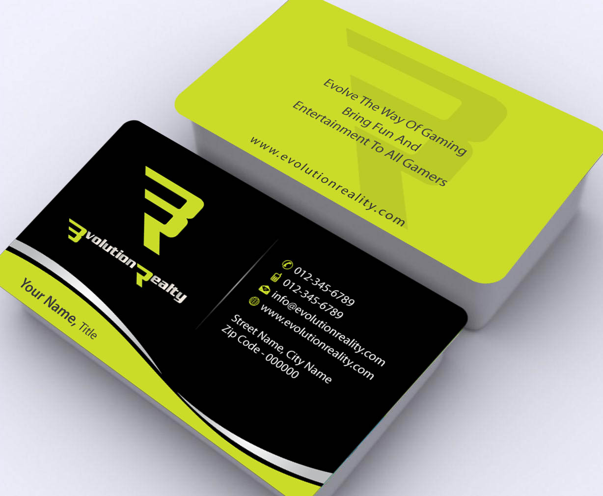 Business card design for desmond tang by sbss design for Game designer business cards