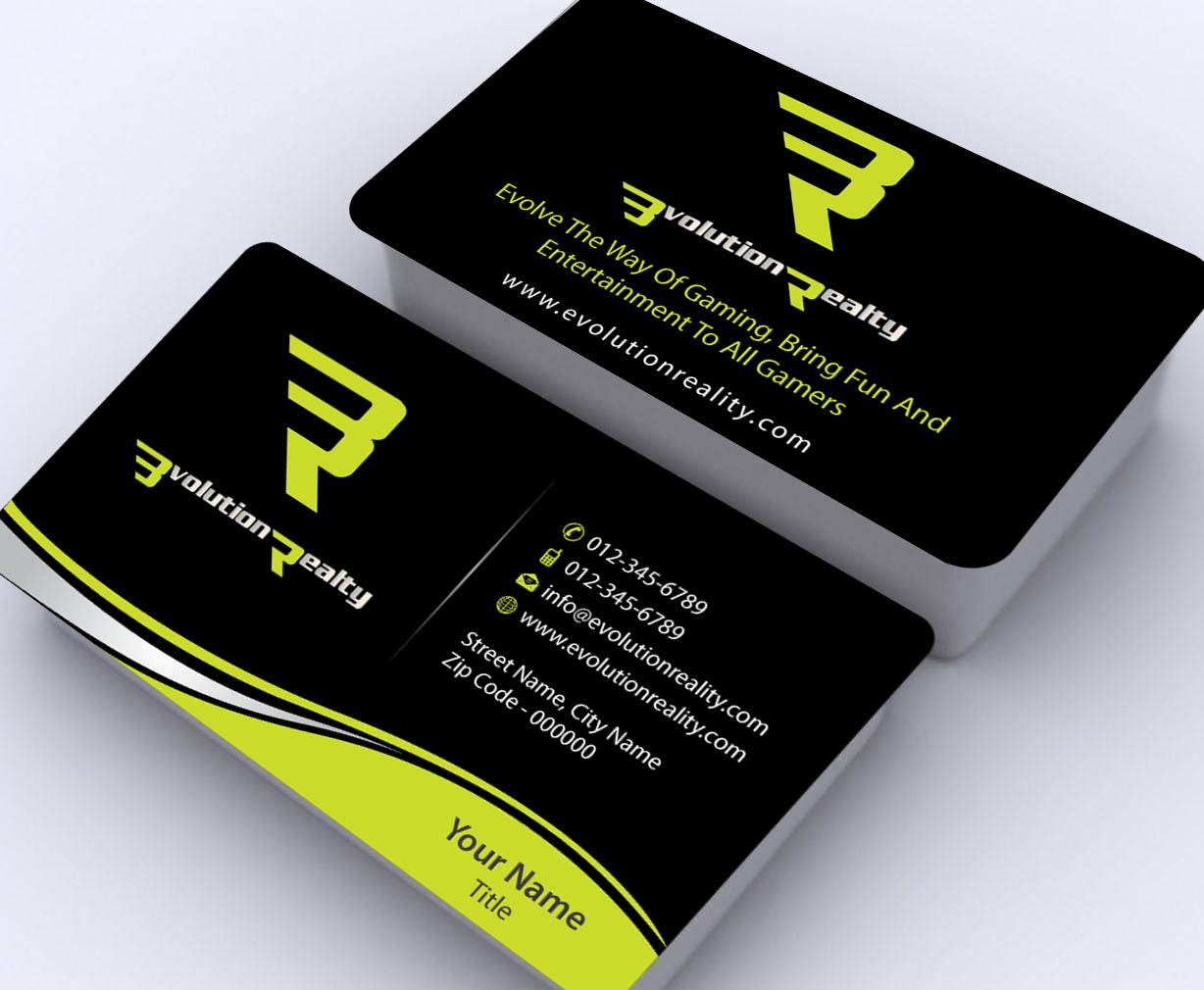 250 professional business business card designs for a for Game designer business cards
