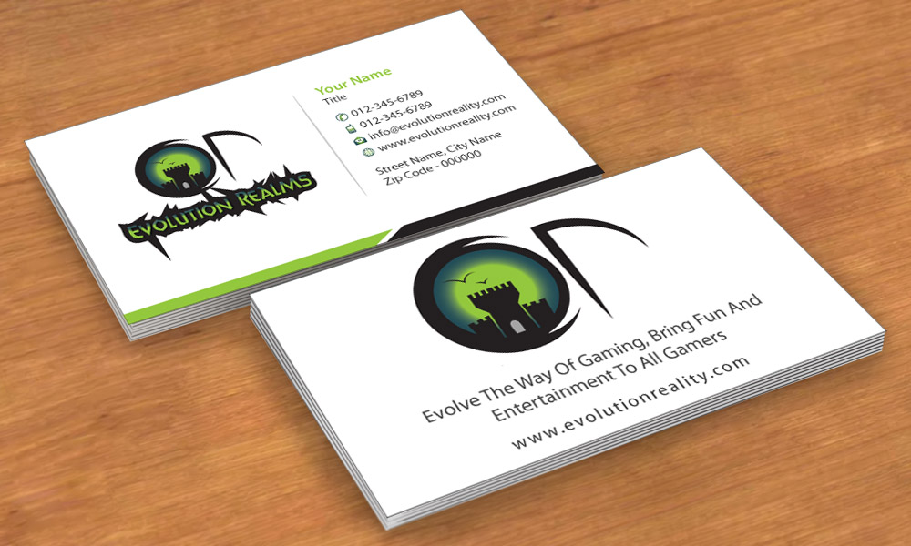 Great business card game contemporary business card for Video game business cards
