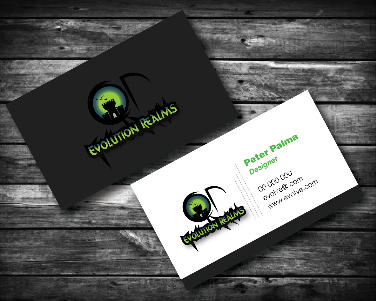 Entertainment Business Card Design For A Company By Peter Design