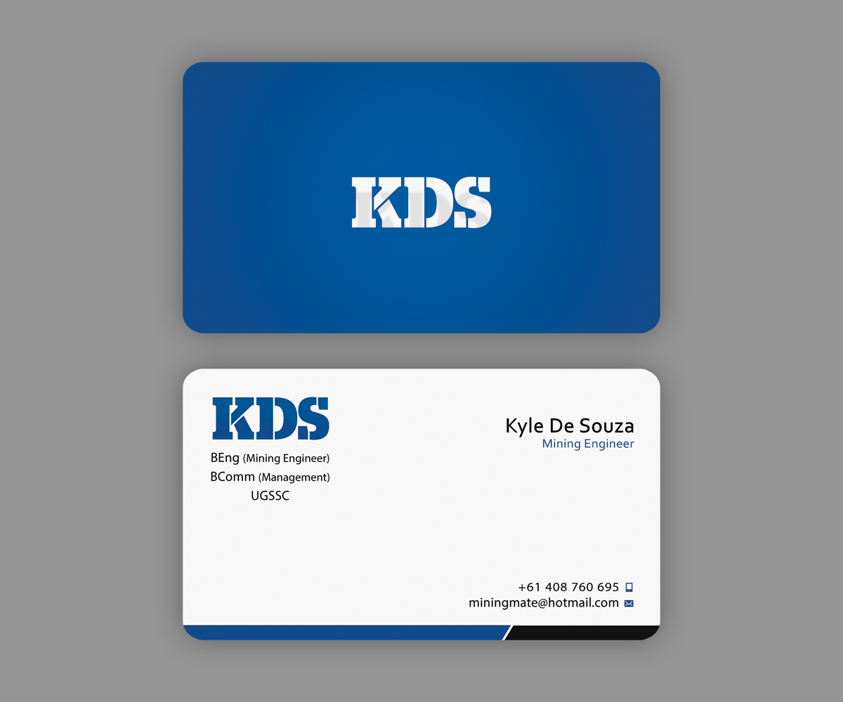 Business Card Design for Kyle De Souza by Ethien | Design #4215058