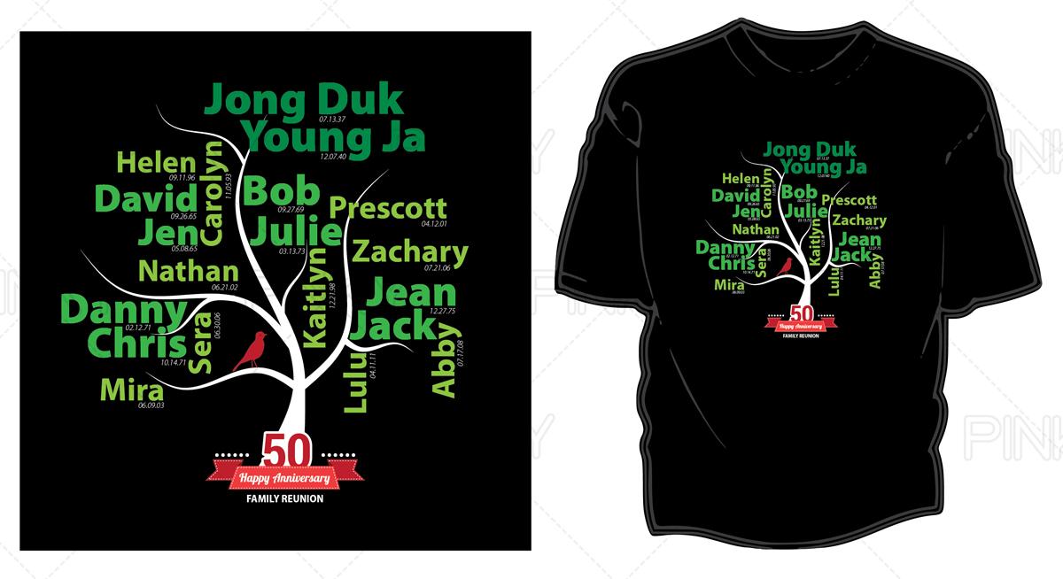 Wedding T Shirt Design Fur Christine Lee Von Pinky Design 4238979