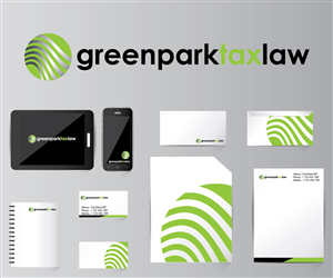 Logo Design by BRAINSTORM - green park tax law