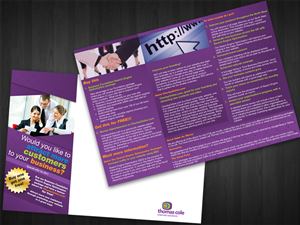 Flyer Design job – 3 fold Flyer Design (A4) – Winning design by choi