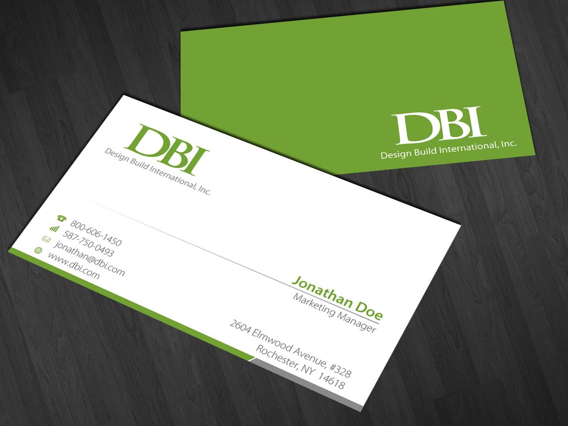 Bold serious construction business card design for design build business card design by nila for design build international inc design 1197645 colourmoves