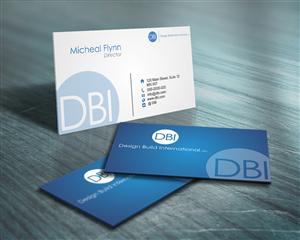 53 bold business card designs construction business card design business card design by naavyd for design build international inc design 1192886 colourmoves
