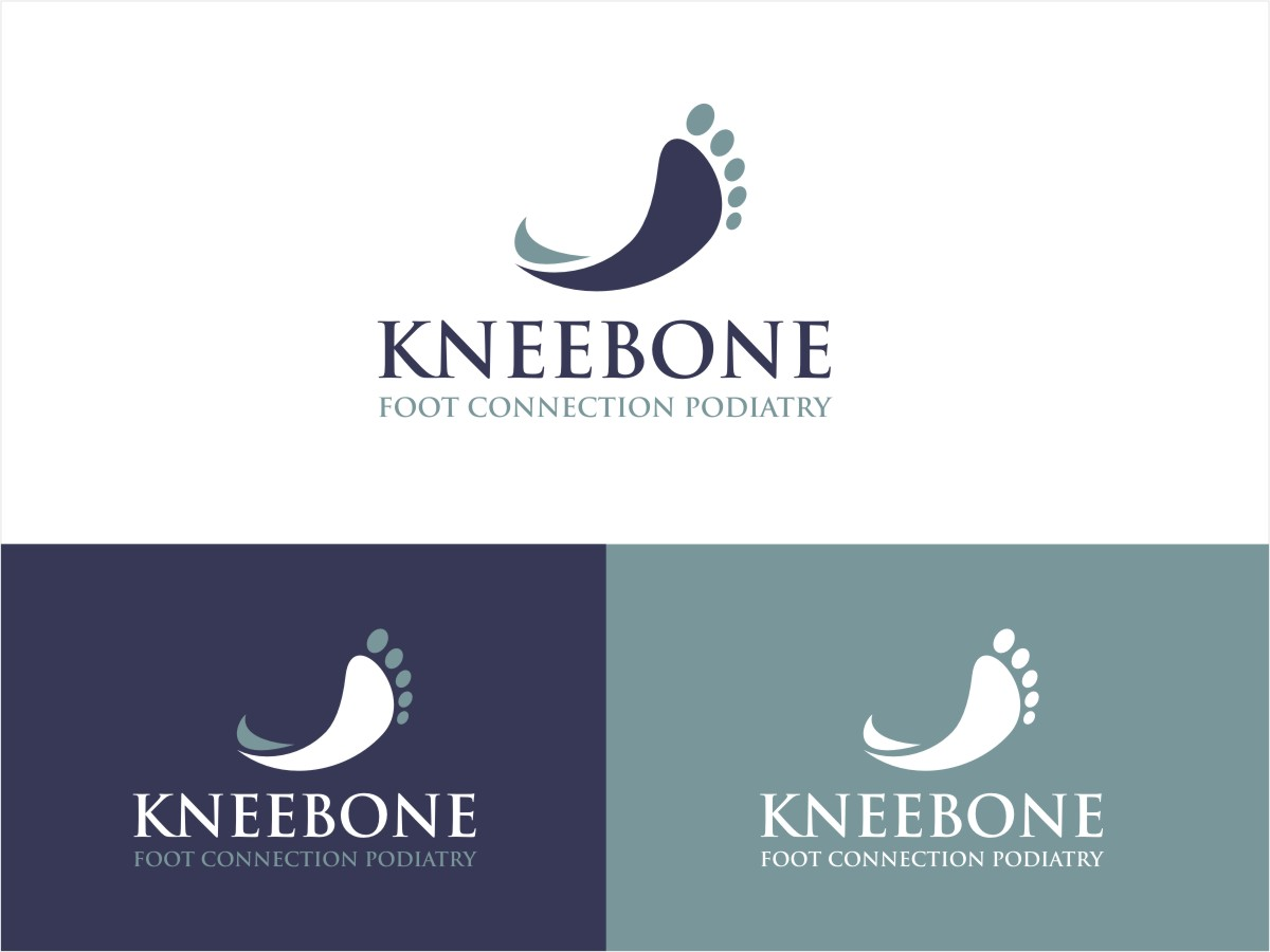 Business logo design for logo kneebone foot connection podiatry business logo design for a company in australia design 4268633 reheart Image collections