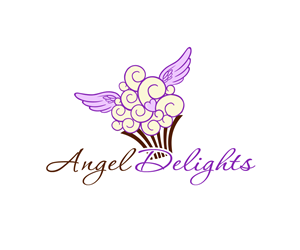 Food logo design galleries for inspiration page 43 Angel logo design