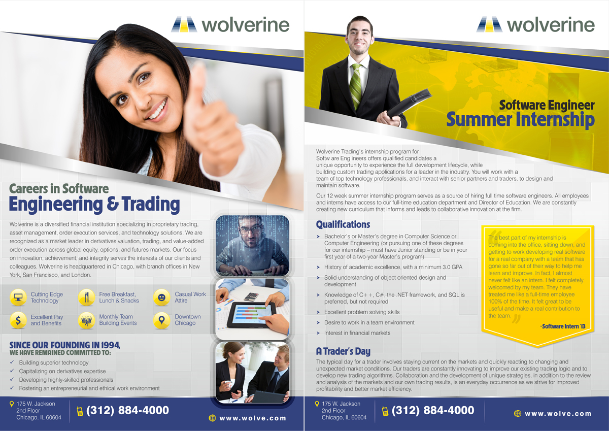 24 Professional Financial Flyer Designs For A Financial