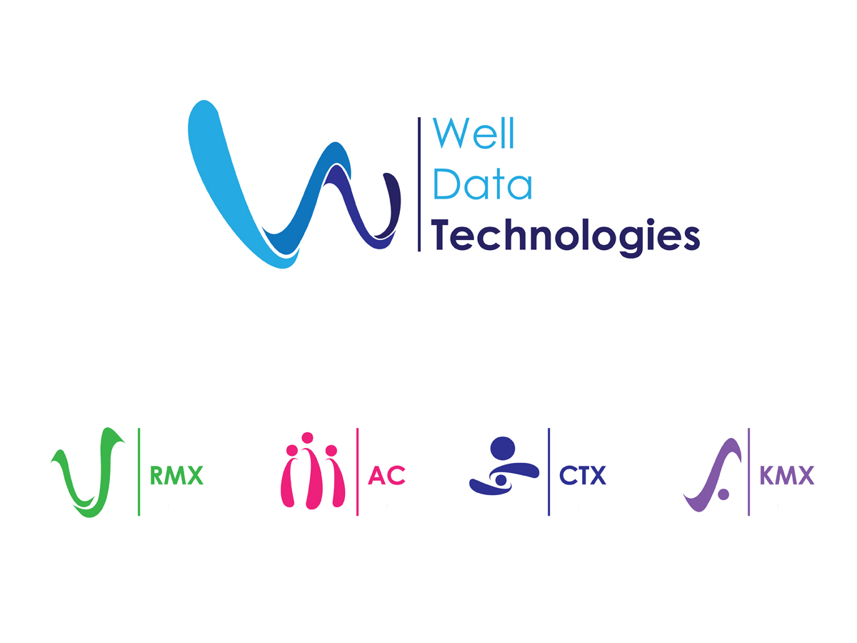 Modern professional logo design for well data for Consulting company logo