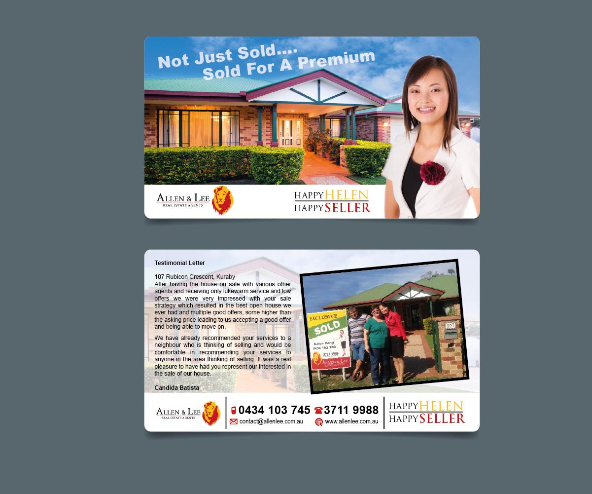 brochure design for helen by tornado design 4257689 brochure design by tornado for real estate agent brochure design 4257689