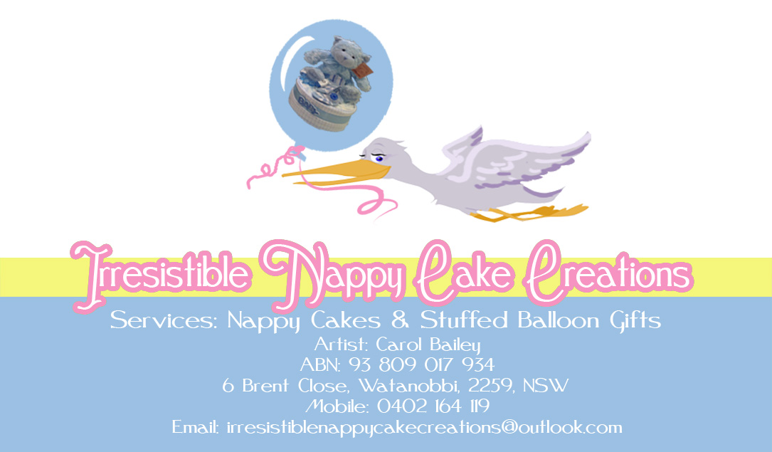 Business Cards For Diaper Cakes Image collections - Card Design ...