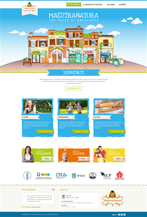 Web Design by Zarr Tech - Learning platform for primary and secondary sch...