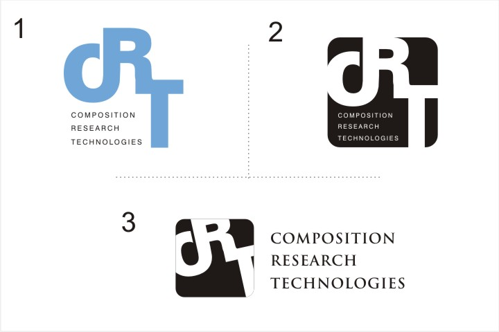 serious professional industry logo design for crt by