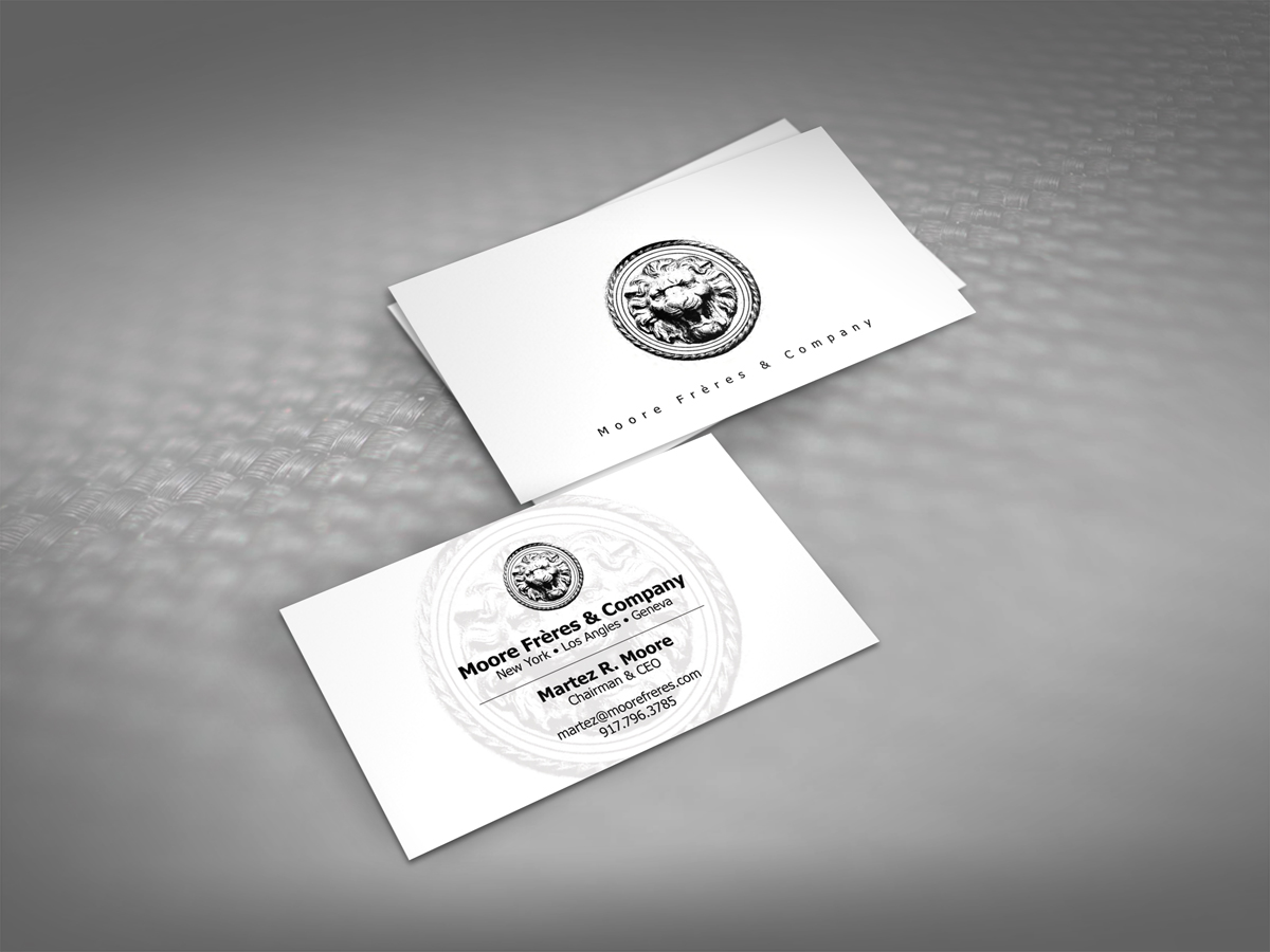 Serious, Traditional, Conservative Business Card Design for a ...