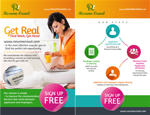 Flyer Design by Theziners - Revolutionary Job Search/ Matching website need...