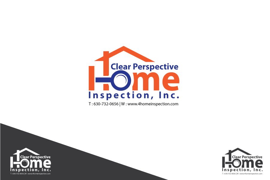 Bold, Modern Logo Design for Clear Perspective Home Inspection ...