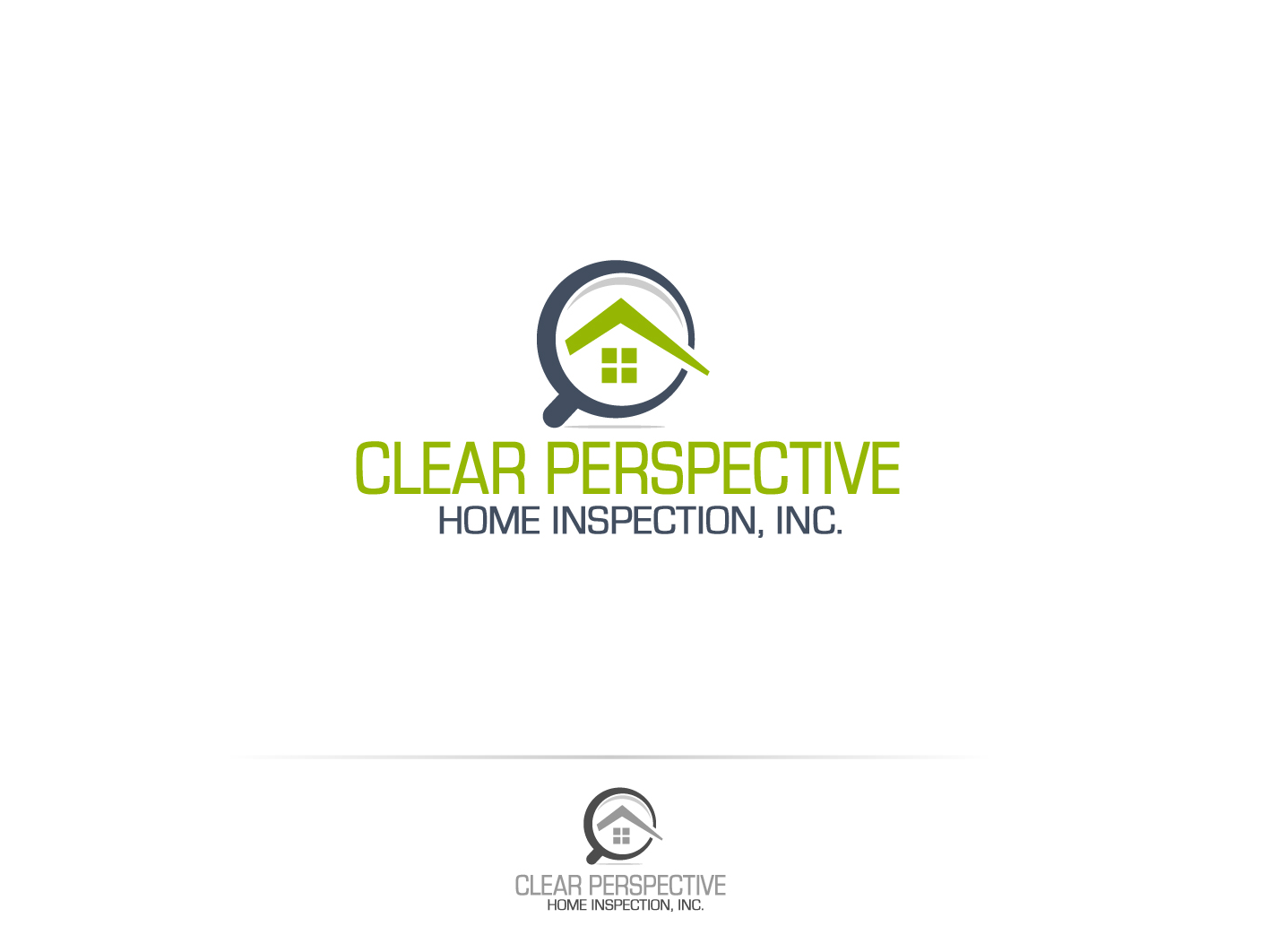 Elegant Logo Design By DesignPlus For Clear Perspective Home Inspection, Inc.    Design #4242477