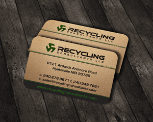 379 business card designs recycling business card design project business card design by wall jamboree for this project design 4269099 colourmoves