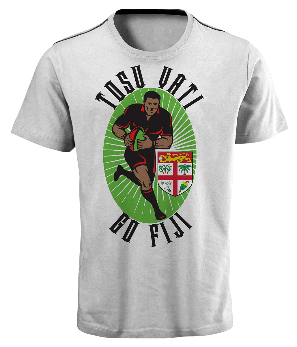 Design t shirt rugby - T Shirt Design By Fcurtis For A T Shirt For Fiji Rugby 7s Team