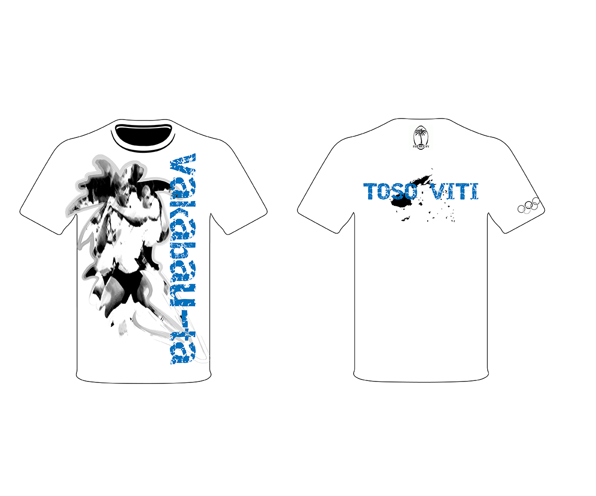 Design t shirt rugby - T Shirt Design By Pd2 For A T Shirt For Fiji Rugby 7s Team
