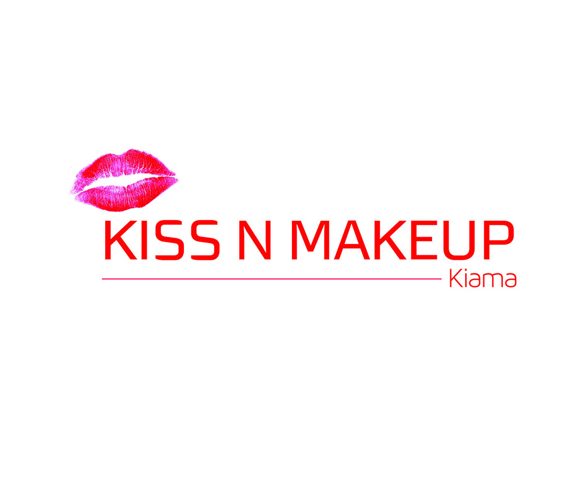 Kiss And Makeup Logo: Business Logo Design For Kiss N Makeup Kiama By MINICANDY