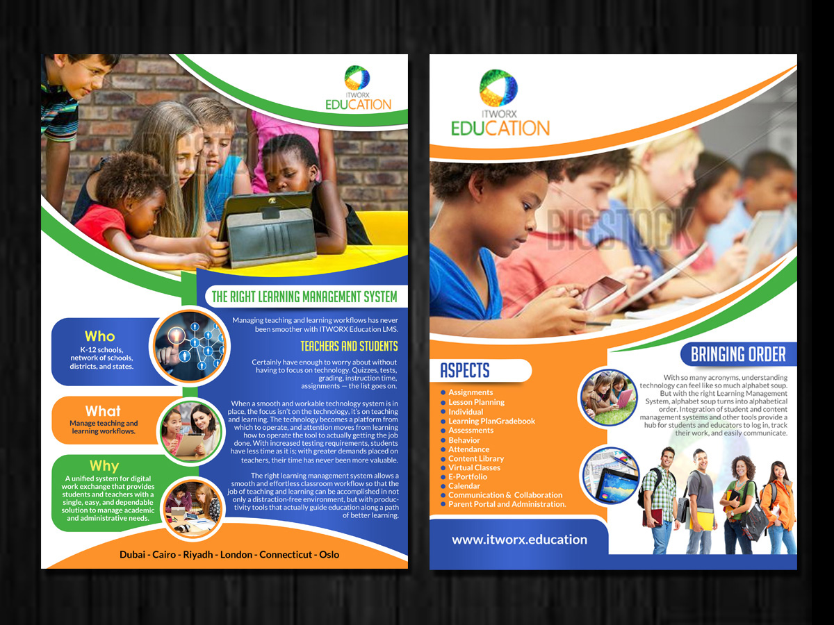 school flyer design galleries for inspiration page 2 education flyer design by esolz technolog