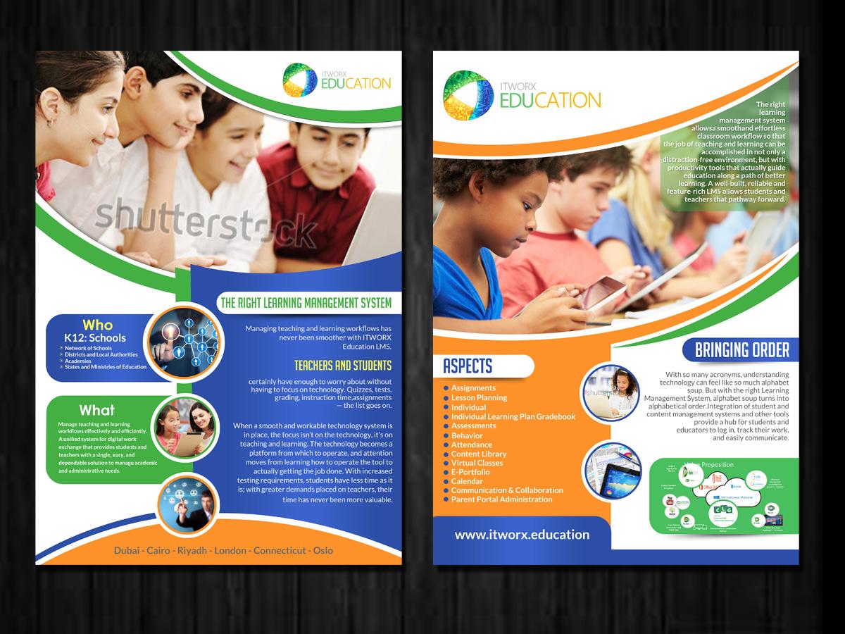 Flyer Design for Sarah ABDEL-RAHMAN by ESolz Technologies | Design ...