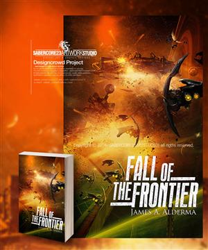 Book Cover Design by Sabercore23DesignStudio - Sci Fi Book: Fall of the Frontier