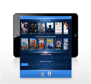 App Design by robertscreative - Self Serve Entertainment App Interface Design