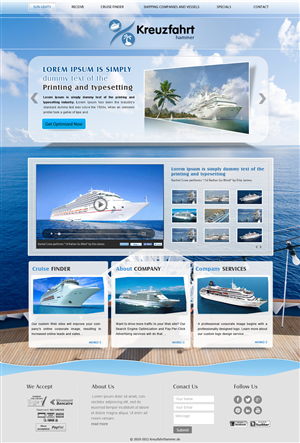 Homepage Flyer Design 1220576