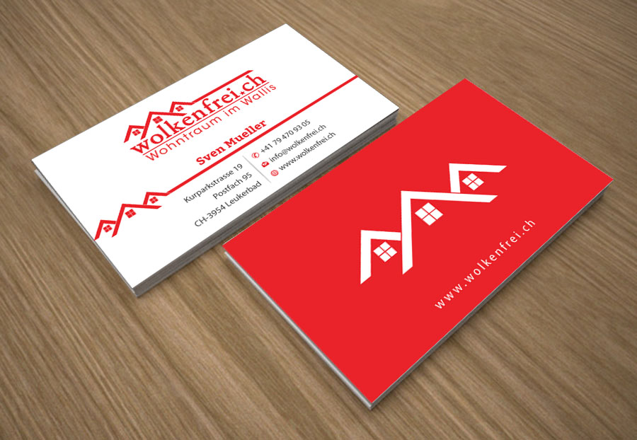 Modern professional business business card design for wolkenfrei business card design by joy16589 for wolkenfrei design 4247875 reheart Image collections