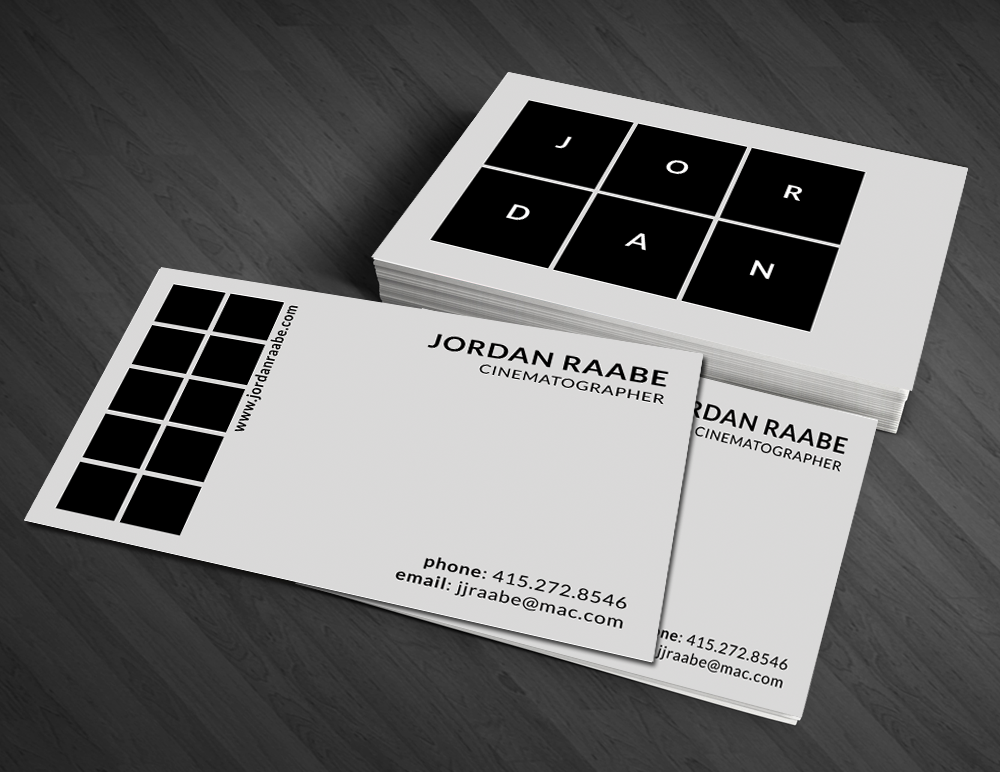 Modern masculine steel business card design for a company by business card design by artman for this project design 4320366 colourmoves