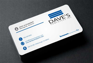 Business Business Card Design For David Molnar By Mohammad Design