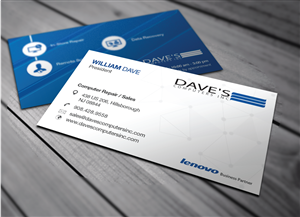 Computer Business Card Design Galleries for Inspiration