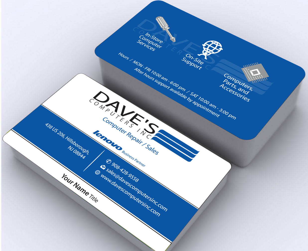 Business Card Design for David Molnar by Sbss | Design #4253852