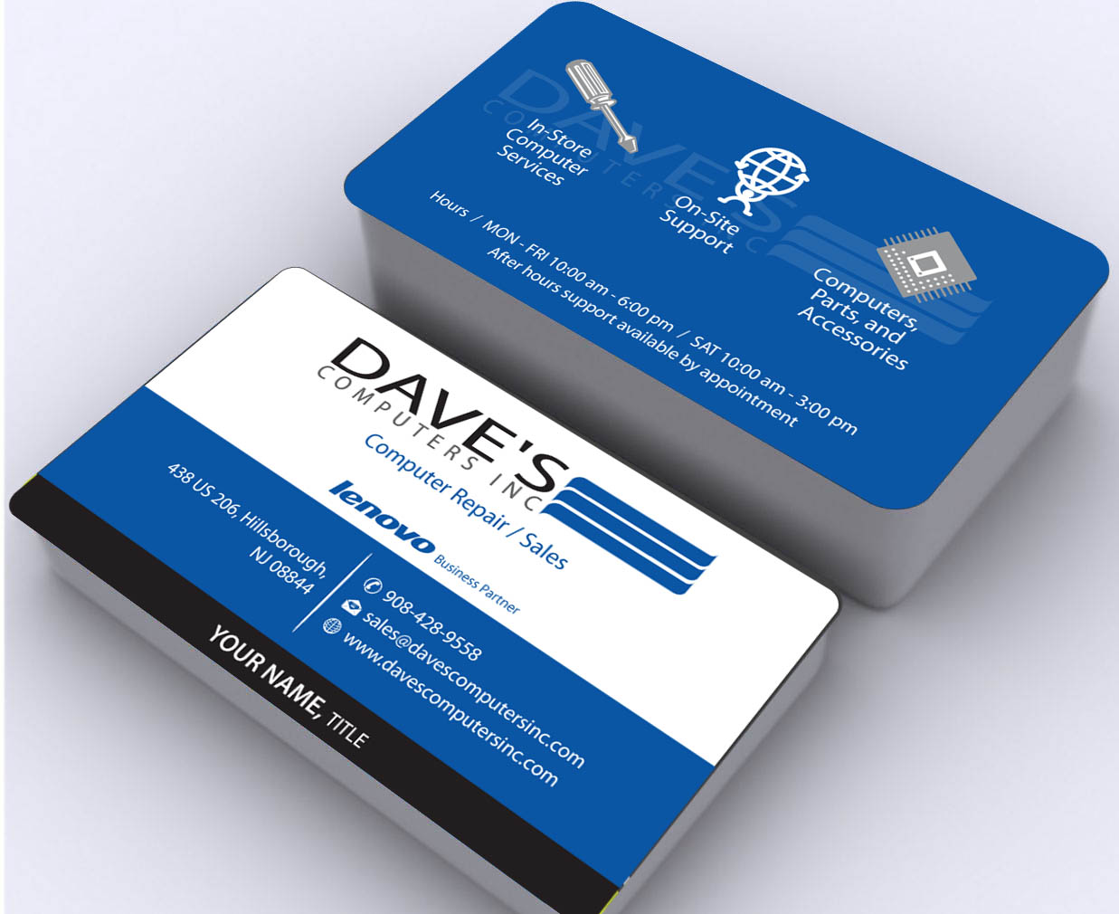 Business Card Design By Sbss For David Molnar