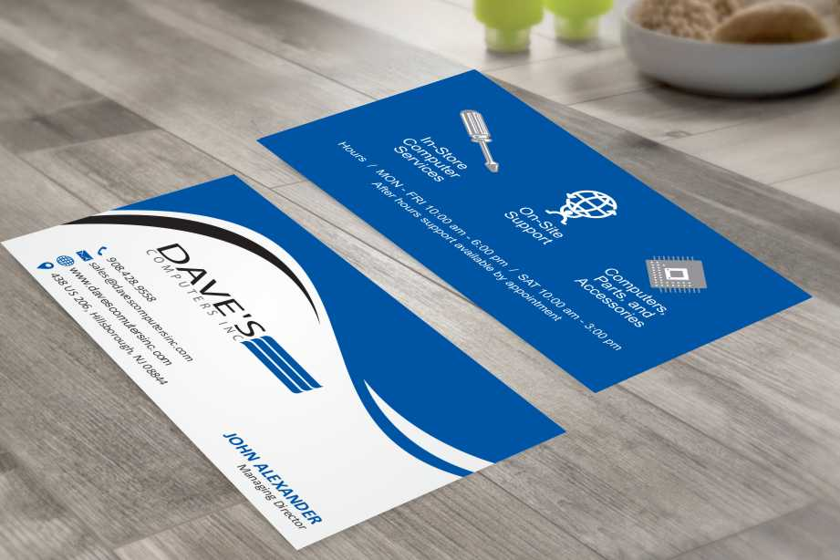 Business Card Design for David Molnar by szabist | Design #4273267