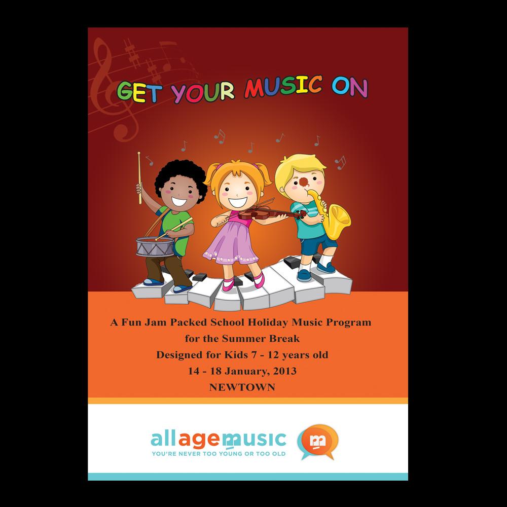Poster design program - Poster Design By Bijuak For Design To Promote School Holiday Music Program For Kids Design