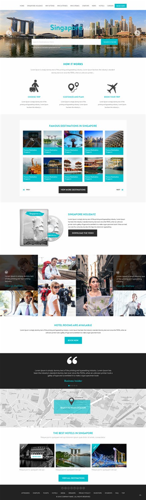 Web Design by pb - SingaporeHolidayz