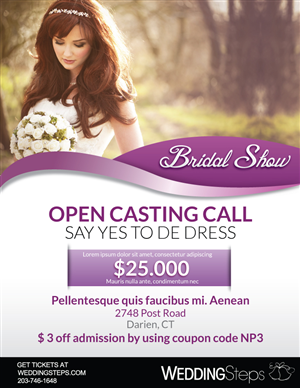 wedding flyer design galleries for inspiration page 5
