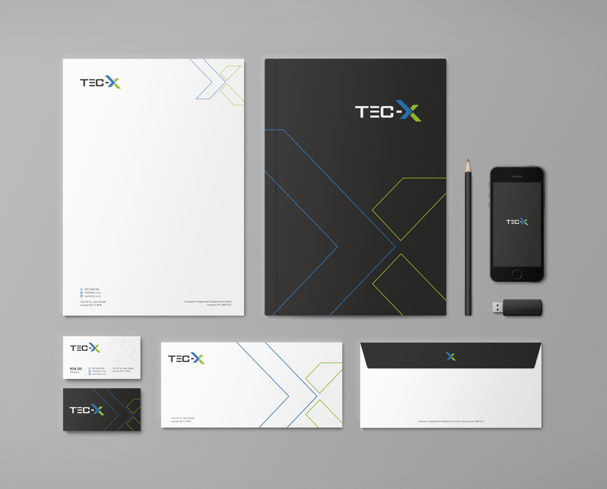 Bold modern business stationery design for a company by for Company design