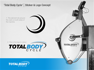 Logo Design by FAR FROM HOME - Total Body Cycle