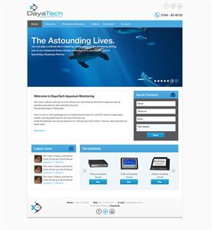 Web Design by FreshCreations - Website Design for Dayatech.com.au (Design + Code)