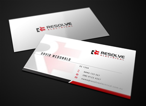 Electrical Business Card Design Galleries for Inspiration